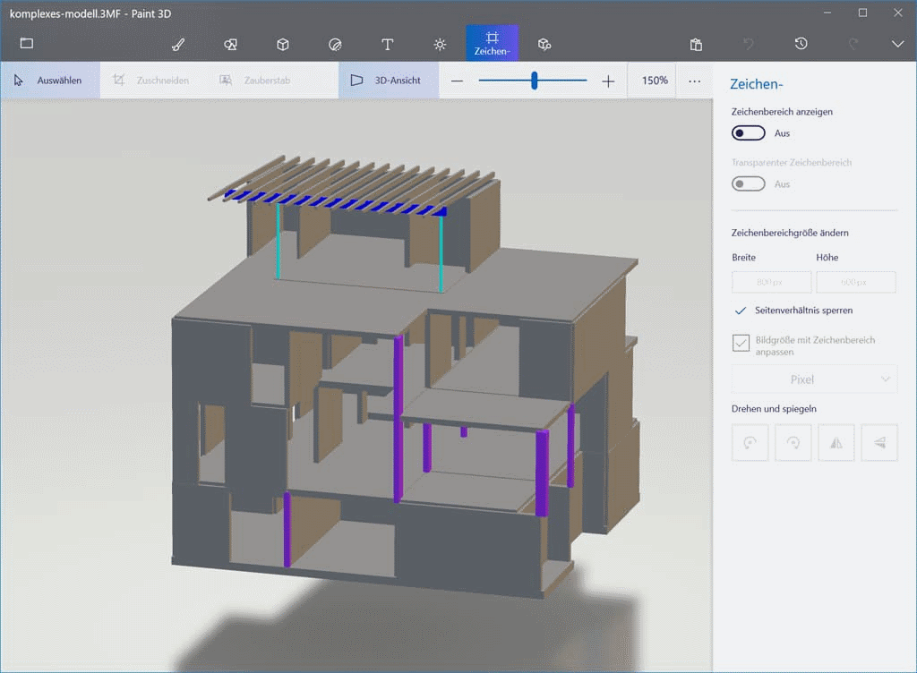 BIM: Übergabe des statischen Models an 3D-Drucker