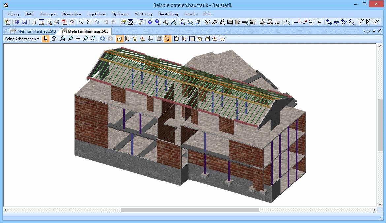 Baustatik: mehrfamilienhaus