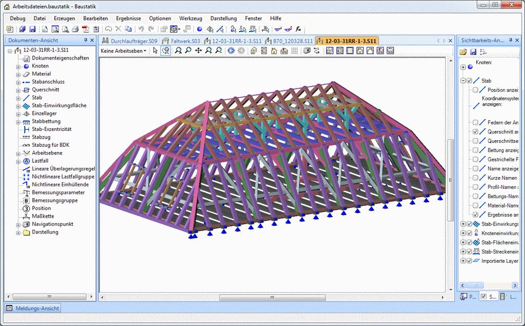 3D-Rahmen: Echt-Ansicht mit Begehung